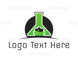 Toxic - Technology Lab logo design