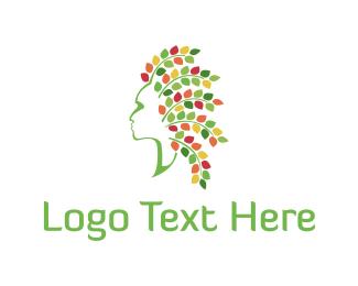 Hair - Floral Hair logo design