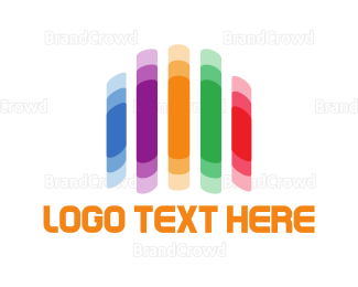 """""""Colorful Blurry Lines"""" by LogoBrainstorm"""