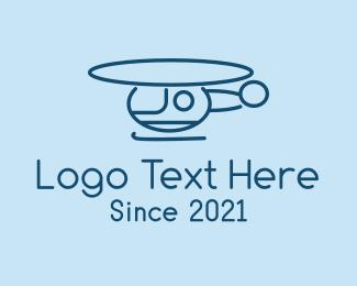 Transport - Helicopter Transport  logo design