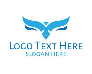 Writing - Bird Writers logo design