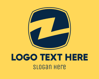 Electrician - Electrical Letter Z logo design