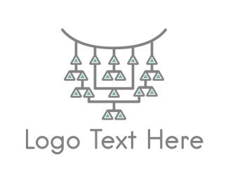 Ancient Jewelry logo design