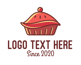 Sweets - Cherry Pie  logo design