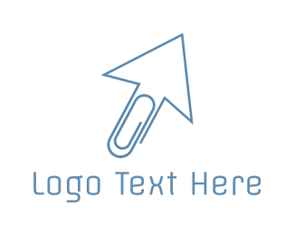 Pointer - Office Click logo design