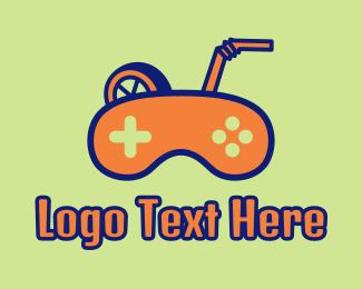 Game - Gaming Juice  logo design