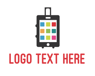 Luggage - Smart Luggage logo design