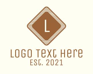 Wooden - Wooden Letter logo design
