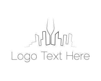 Wine Store - Wine City logo design