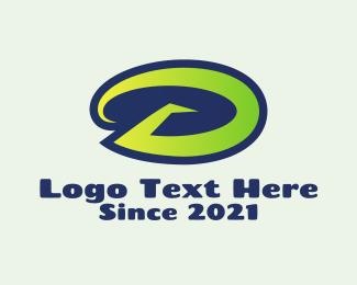 Athlete - Athletic Letter D logo design