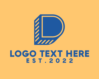 Brand - Modern Letter D logo design