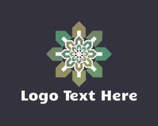House Flower Logo