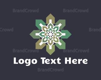Aged Care - House Flower logo design