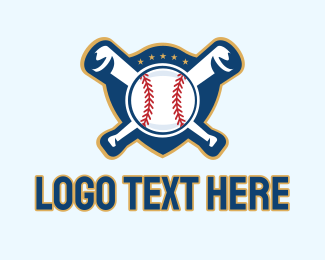 League - Baseball Softball Team Emblem  logo design