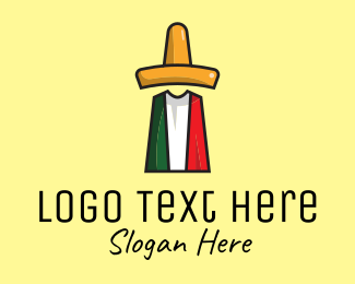 Taqueria - Sombrero Mexican Restaurant logo design