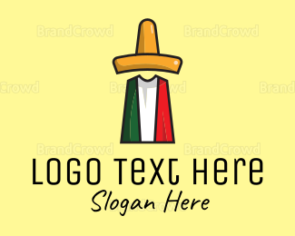 Party - Mexican Sombrero logo design