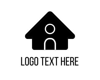 Cabin - Black House logo design