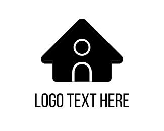 Project - Black House logo design