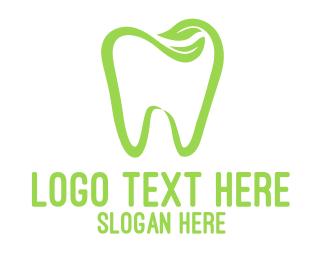 Tooth - Organic Dentistry logo design