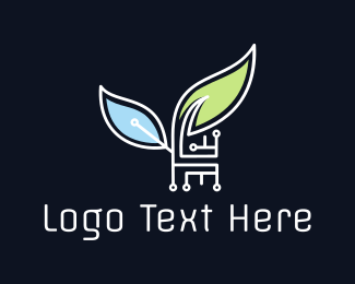 Technological - Eco Technology logo design
