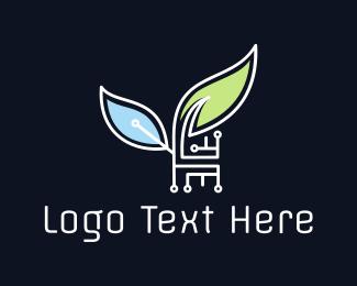 Agritech - Eco Technology logo design