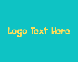 Summer Beach Wordmark  Logo