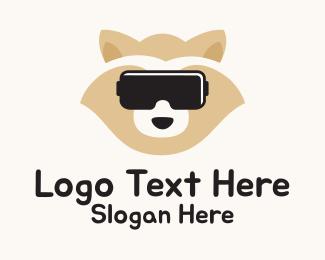 Augmented Reality - Dog Gamer logo design