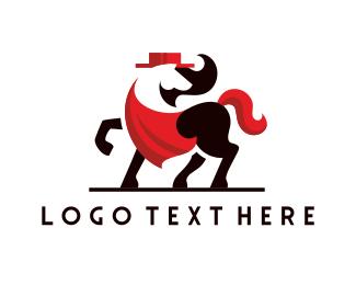 Horse - Spanish Horse logo design