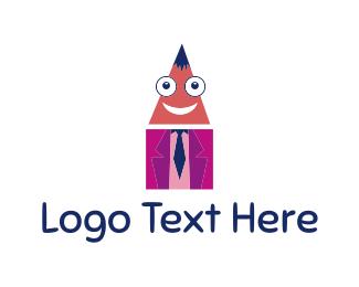 Funny - Elegant Funny Pencil logo design