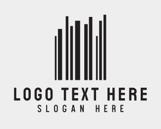 Secret - Barcode Buildings logo design