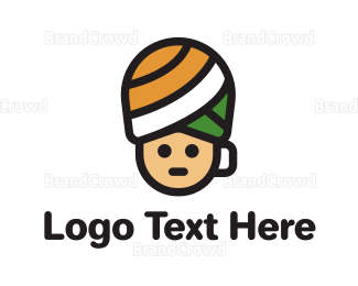 Cappuccino - Turban Coffee Cup logo design