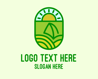Provincial - Natural Sustainable Plant logo design