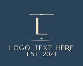Company - Minimalist Classic Letter logo design