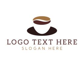 Coffee - Coffee Cup Saucer logo design