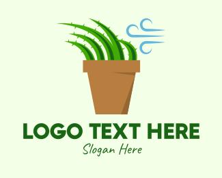 Cacti - Aloe Vera Breeze  logo design