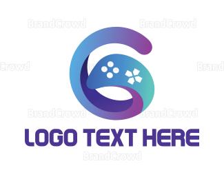 Swoosh - Gradient G Gaming logo design