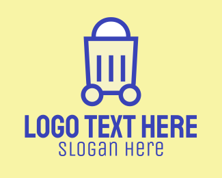 Shop - Online Shopping Cart logo design