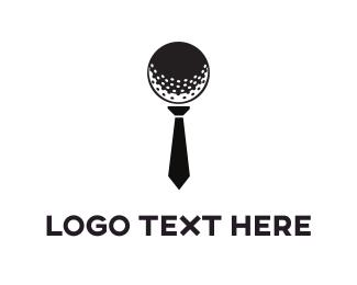 Course - Golf Tie logo design