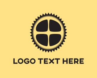 Wheel - Spike Wheel logo design