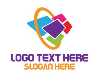 File Transfer - Data Portal logo design