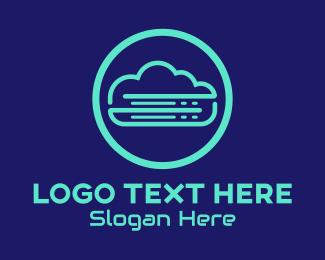 Cloud Hosting - Tech Cloud Web Hosting logo design
