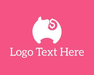 Altcoin - Pig Tail Money logo design