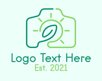 Video - Leaf Sunshine Camera logo design