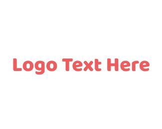 Vc - Modern Peach logo design
