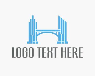 Estate Agency - Estate Bridge logo design