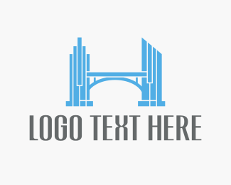 Bridge - Estate Bridge logo design