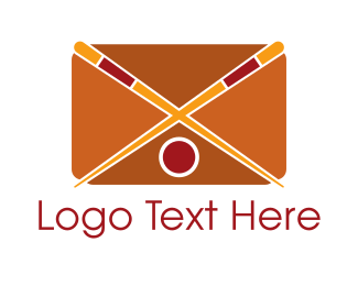 Food - Sushi Mail App logo design