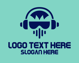 Music - Music DJ logo design