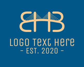 Pass - EHB Bridge logo design