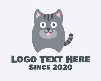 Animal Hospital - Cat Animal Shelter logo design